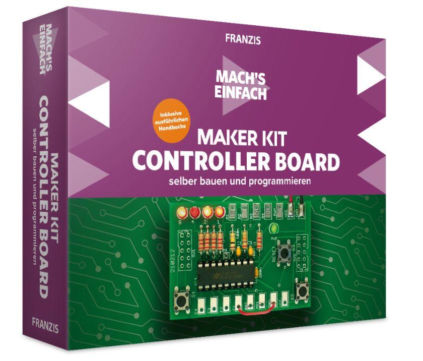 Franzis Maker Kit Controller Board selber bauen und programmieren für 18€ (statt 27€)