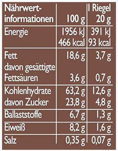 9x 6er Pack Corny Crunch Hafer & Schoko knackiger Müsliriegel für 8,36€ (statt 12€)   Prime Sparabo