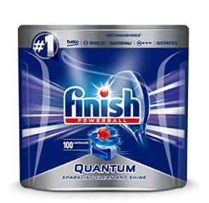 Amazon: Finish-Spülmaschinen Produkte im Angebot – z.B. 182x Finish All in 1 Spülmaschinentabs für 18,39€ (statt 26€)
