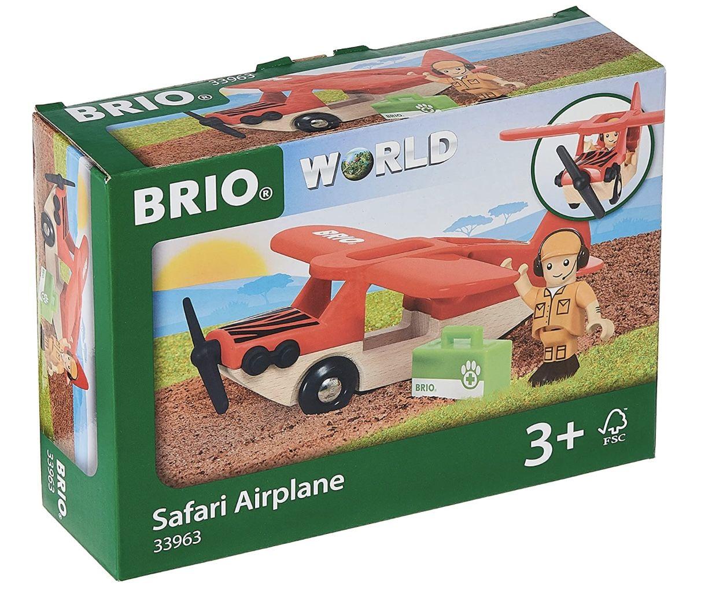 Brio World 33963   Safari Flugzeug für 11,99€ (statt 16€)   Prime