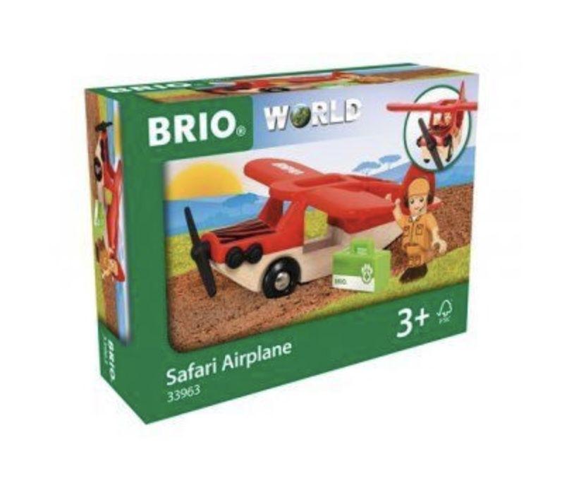 Brio World 33963 – Safari Flugzeug für 11,99€ (statt 16€) – Prime