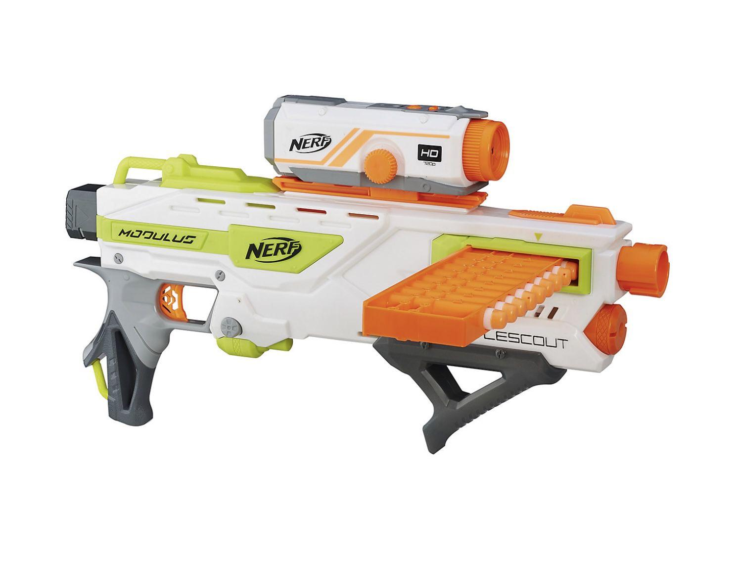 Nerf N-Strike Elite – Modulus Battlescout ICS-10 Spielzeugblaster für 21,98€ (statt 34€)