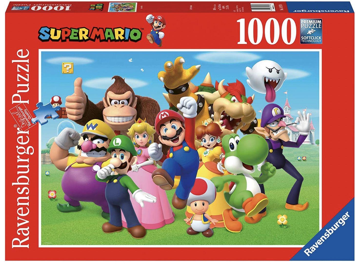 Ravensburger Puzzle 14970   Super Mario für 8,99€ (statt 14€)