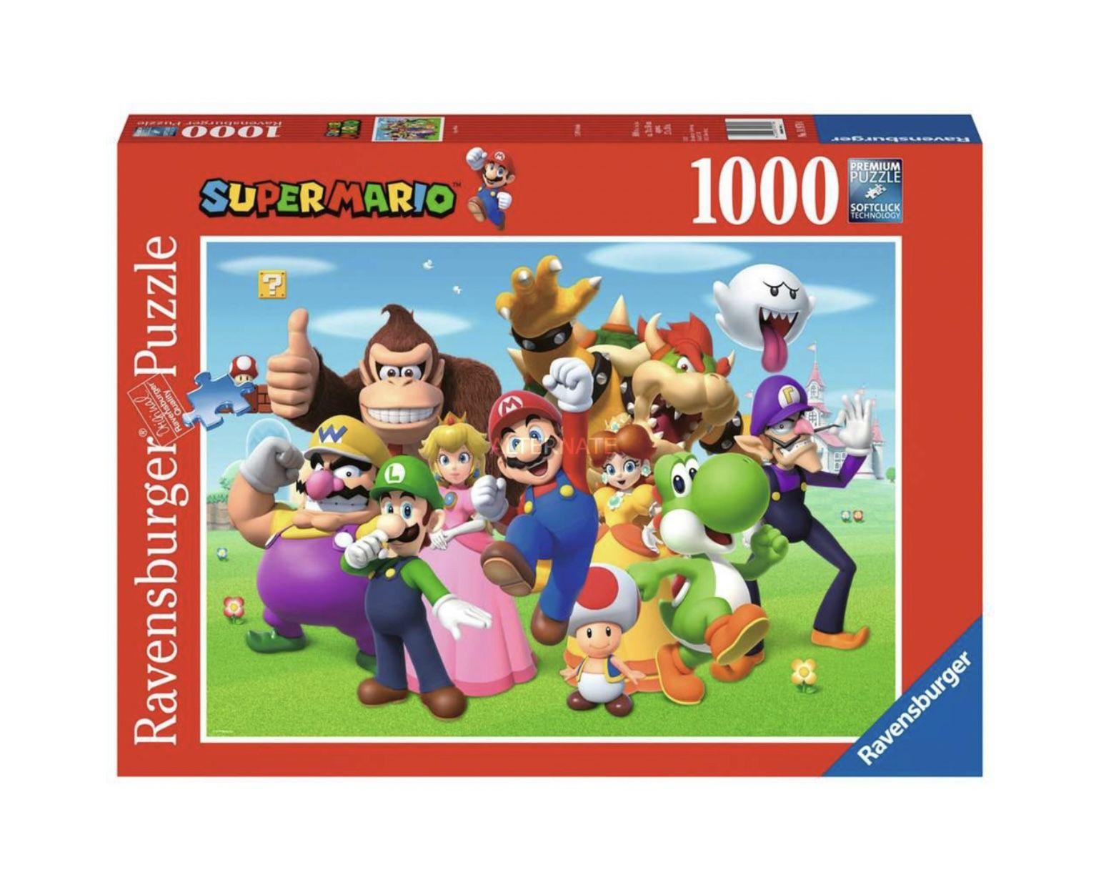Ravensburger Puzzle 14970 – Super Mario für 8,99€ (statt 14€)