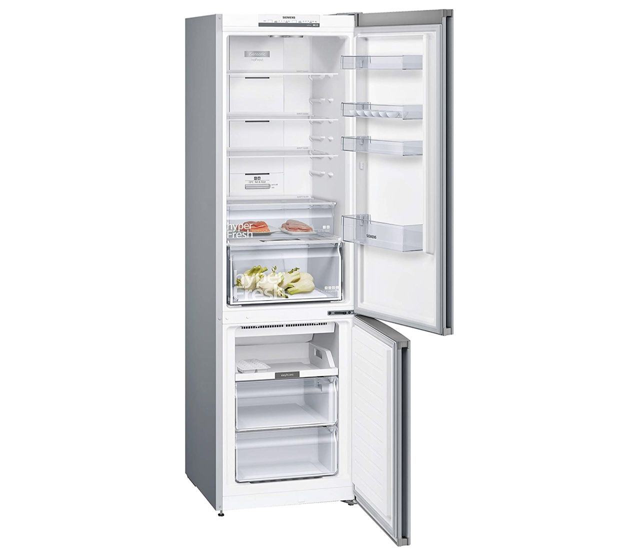 Siemens KG39N2LDA iQ300 Kühl Gefrier Kombination mit 368L & hyperFresh Frischesystem & noFrost für 524€ (statt 630€)