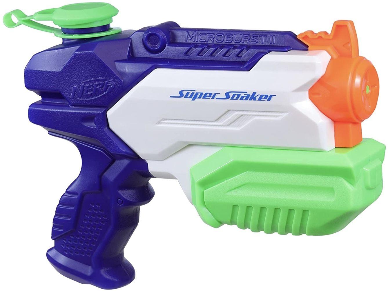 Super Soaker Microburst II Wasserpistole für 5,69€ (statt 8€)   Prime