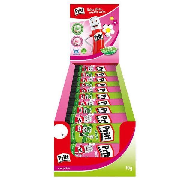 30x Pritt Klebestift in Grün und Pink für 9,99€ (statt 25€)