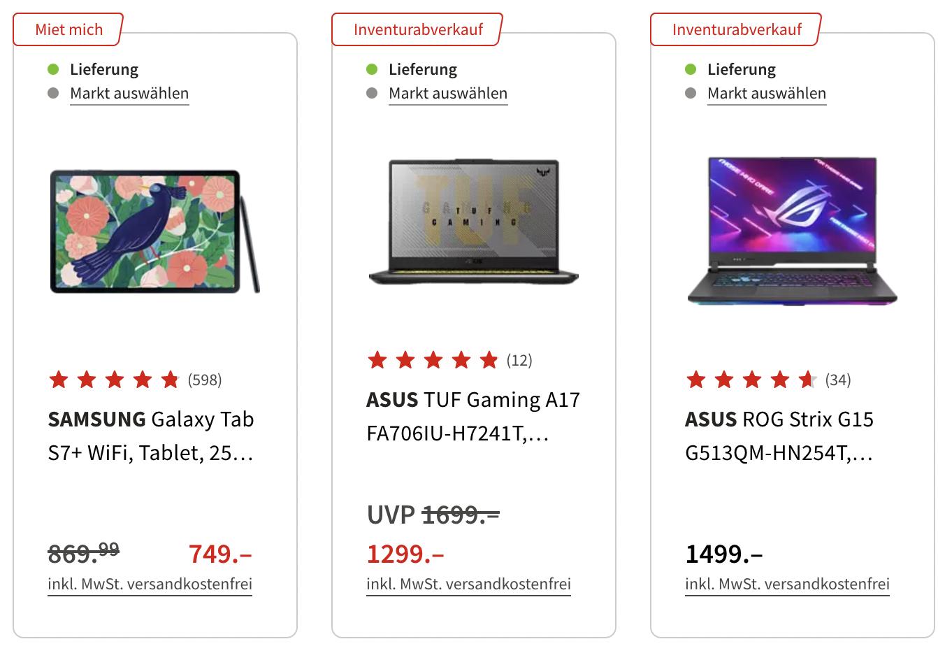 Media Markt Saturn Inventur Abverkauf   viele gute Deals!