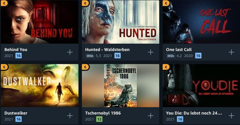 Amazon Freitag Filme Abend: Filme in HD für je 0,99€ leihen   z.B. Skylines