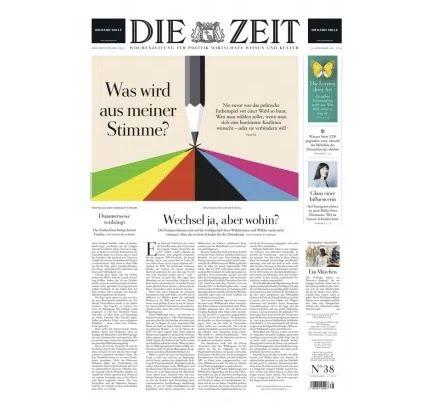 """13 Ausgaben """"Die Zeit"""" für direkt nur 14,95€ (statt 73€)"""
