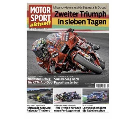 50 Ausgaben Motorsport aktuell für einmalig 19,95€ (statt 155€)