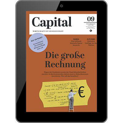 Ein Jahr Capital Abo als e-Paper direkt nur 2,49€ (statt 80€)