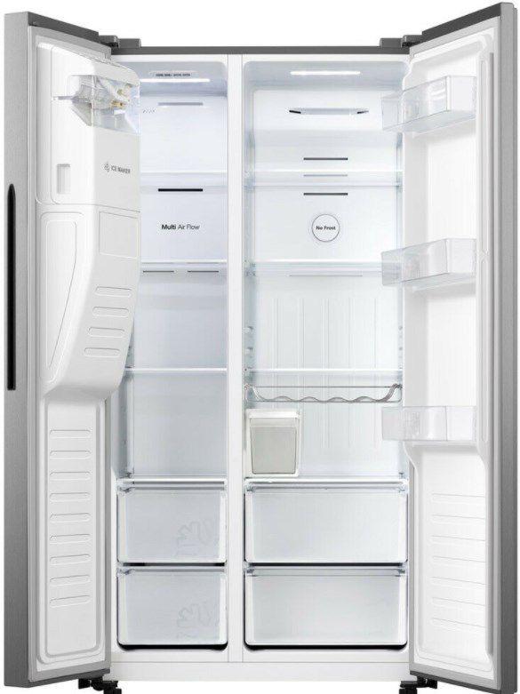 Hisense Side by Side Kühl Gefrierkombination mit NoFrost + Eiswürfelspender für 659€ (statt 870€)