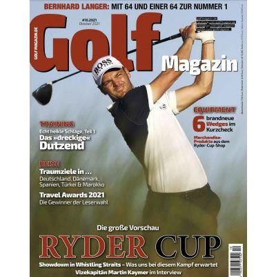 12 Ausgaben vom GOLF Magazin für 9,99€ (statt 96€)