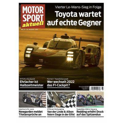 50 Ausgaben Motorsport Abo aktuell für einmalig 19,95€ (statt 155€)