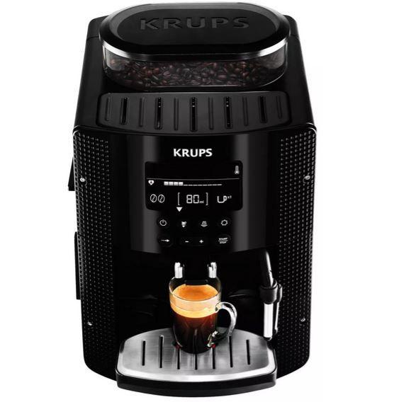 Krups EA815P Kaffeevollautomat 15Bar mit Milchdüse für 299,99€ (statt 349€)