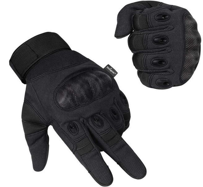 Unigear schwere Herren Touchscreen Handschuhe (Motorrad, etc.) für 10,79€ (statt 18€)  prime