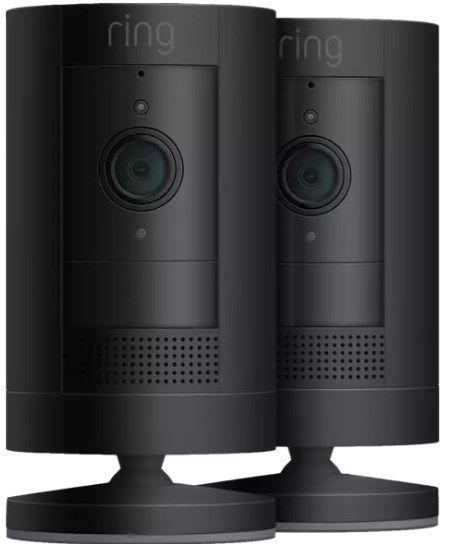 2er Set Ring Stick Up Cam Battery (3. Gen) Überwachungskamera mit 1080p ab 164,59€ (statt 194€)