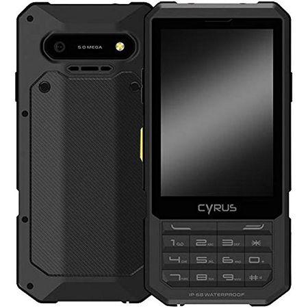 Cyrus CM17 Outdoor-Handy in Schwarz für 77€ (statt 107€)