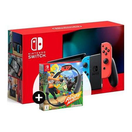 Nintendo Switch (Neue Version) mit Ring Adventure für 3,99€ + O-Telo Vodafone Allnet-Flat mit 15GB LTE für 21,98€ mtl.