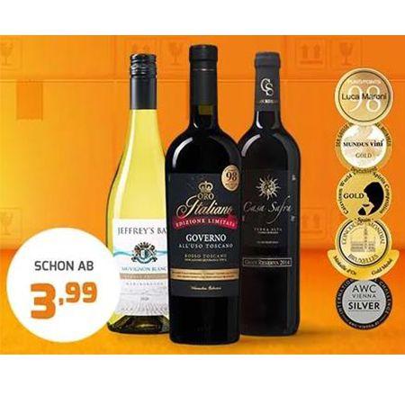 Weinvorteil.de: Zweiter Karton Gratis – Spitzen Weine mit 50% Rabatt ab 3,99€ pro Karton