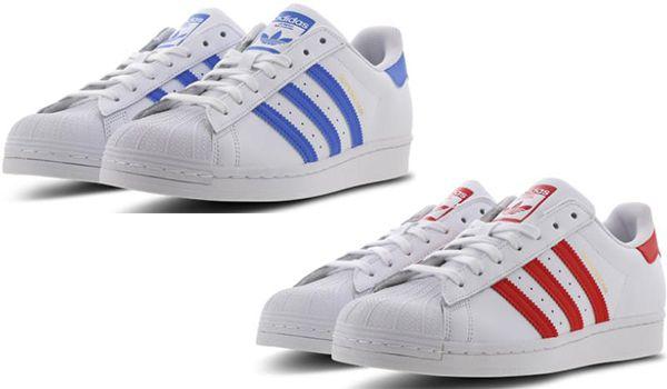 Adidas Superstar   Herrensneaker in verschiedenen Farben für je 49,99€ (statt 62€)   Restgrößen