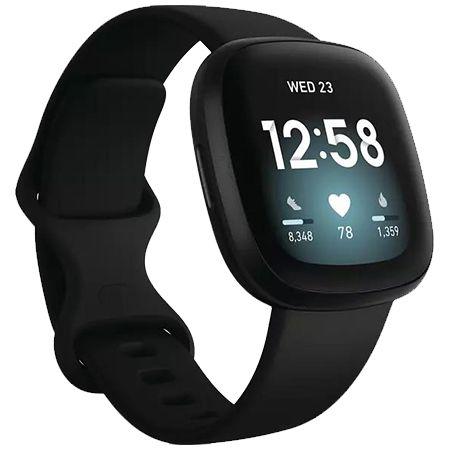 FITBIT Versa 3 Smartwatch mit Aluminium Gehäuse in drei Farben für 165€ (statt 179€)