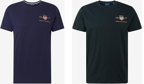 GANT   T Shirts in vier Farben ab 27,97€ (statt 40€)