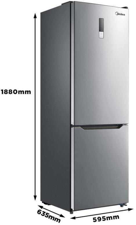 Midea KG EIX 6.20 WT Kühl /Gefrierkombination für 329,90€ (statt 440€)