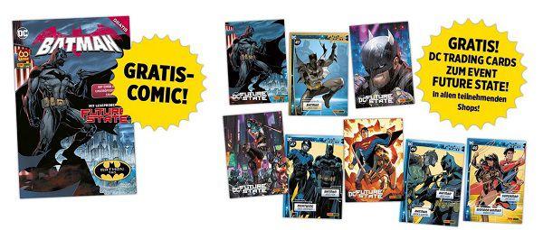 Gratis: Bundesweit am 18.9. Batman Comics und  Artikel abholen