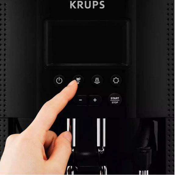 Krups EA815P Kaffeevollautomat 15Bar mit Milchdüse für 279€ (statt 340€)
