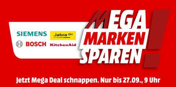 Media Markt Mega Marken Sparen: günstiges von Bosch, Siemens, KitchenAid und Jabra