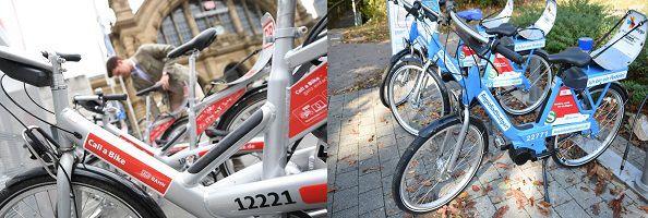 Während des Bahnstreiks Call a bike 30 Minuten je Fahrt gratis