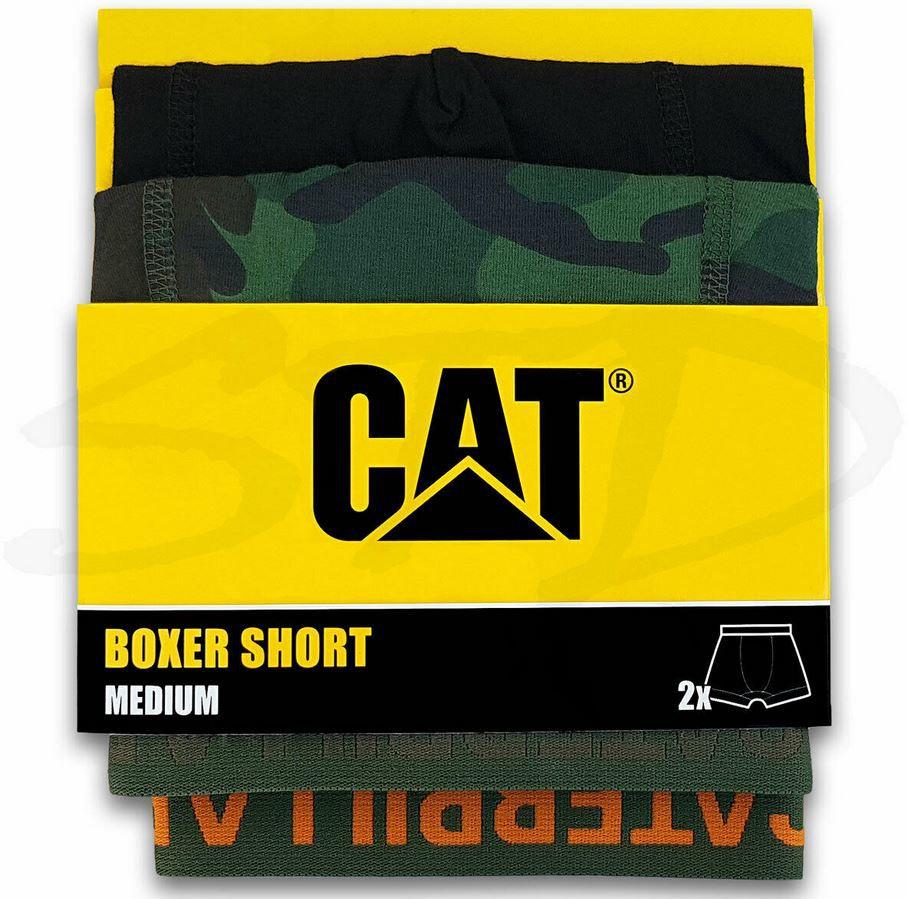 CATERPILLAR 4er Pack Herren Boxer Shorts  Camouflage Retro für 23,50€ (statt 28€)