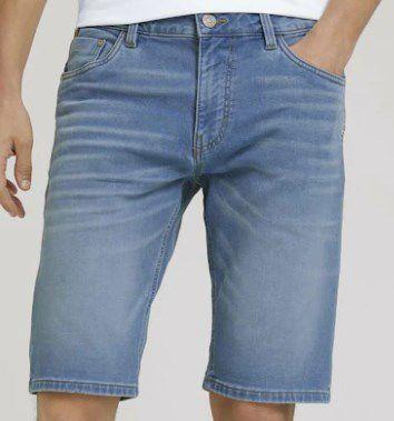 TOM TAILOR Jeans Shorts in Blau/Braun für 19,90€ (statt 45€)