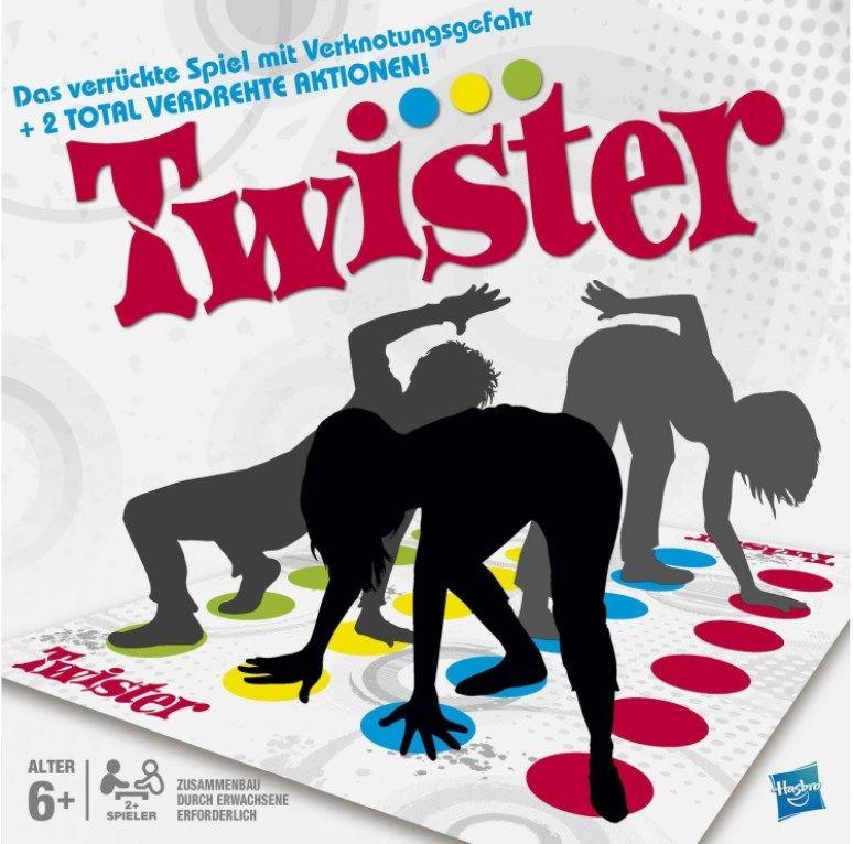 Hasbro Gaming Twister Partyspiel für 13,99 (statt 22€)   Prime