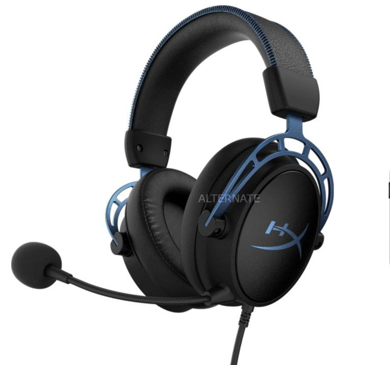 HyperX Cloud Alpha S Gaming-Headset in Schwarz-Blau für 84,99€ (statt 95€)
