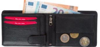 FC Bayern München Geldbeutel aus Leder für 18,21€ (statt 27€)