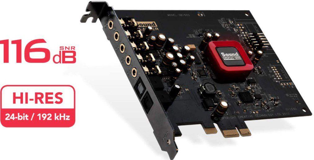 Creative Sound Blaster Z SE Soundkarte für 69,99€ (statt 90€)