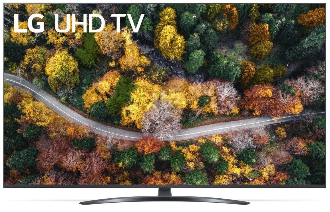 LG 55UP78009LB LCD Fernseher   55 Zoll, UHD & mit LG ThinQ ab 523€ (statt 595€)