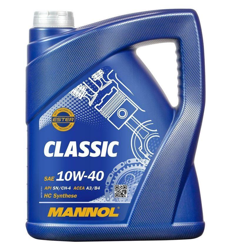 Mannol ÖL Classic 10W 40 5l für 15,79€ (statt 19€)