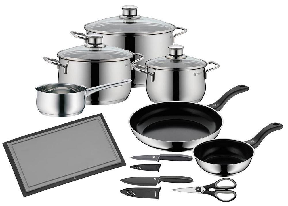 WMF Serie Diadem Plus 10-teiliges Kochtopfset für 143,85€ (statt 264€)