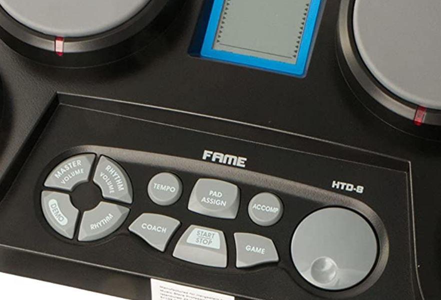 Fame HTD 8 Digitale Drum für 35€ (statt42€)