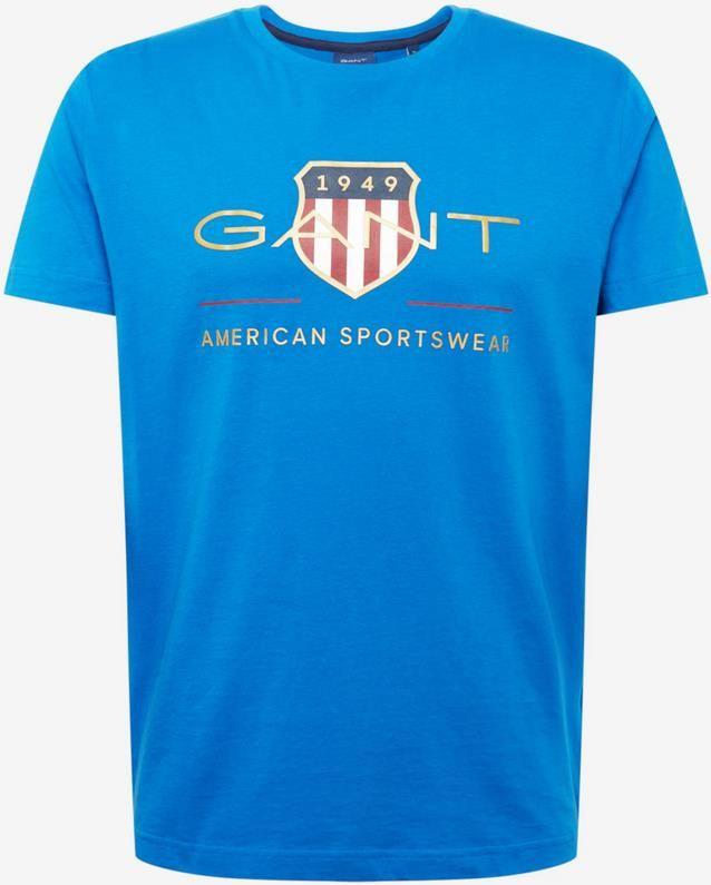 GANT T Shirt in Blau / Saphir für 27,93€ (statt 40€)