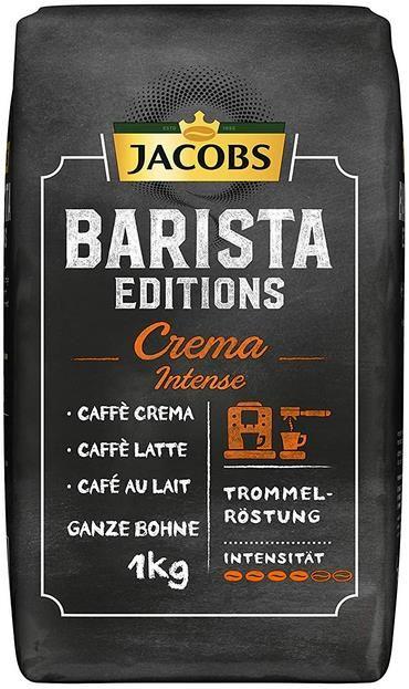 Jacobs Barista Edition   Crema Intense  1 kg Bohnenkaffee für 8,99€ (statt 15€)   Sparabo