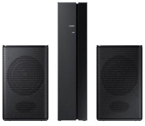 Samsung SWA 8500S Wireless Rear Speaker Kit mit Surround Lautsprechern ab 98,09€ (statt 127€)