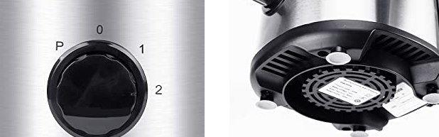 Mirapretty Standmixer mit 350W & 1,8L Behälter für 45,60€ (statt 70€)