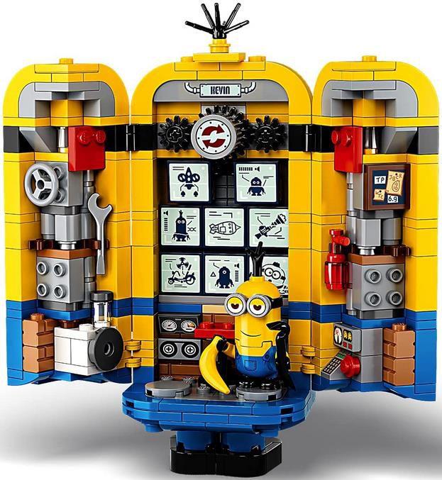 Lego 75551 Minions Figuren Bauset mit Versteck für 31,79€ (statt 39€)