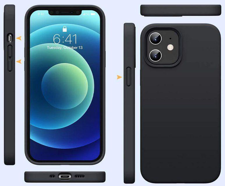 Realme Silikonhülle in Schwarz für iPhone 11 / 12   auch Pro & Pro Max für je 2,59€ (statt 12€)   aus DE