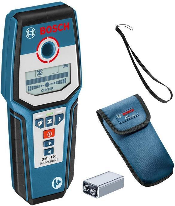 Bosch GMS 120 Professional   digitales Ortungsgerät für 64,99€ (statt 77€)